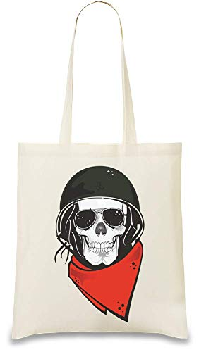 For Illustrion Crâne Re Eco Stylish Cotton War Every Soft amp; Color Disobey 100 Tote Naturel Unique usable friendly Bag Natural Handbag Day Use Skull Custom Printed 1rrdTA6q