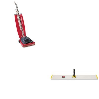 KITEUKSC684FRCPQ580YEL - Value Kit - 36quot; Quick-Connect Hall Dusting Frame, Yellow (RCPQ580YEL) and Commercial Vacuum Cleaner, 16quot; (EUKSC684F)