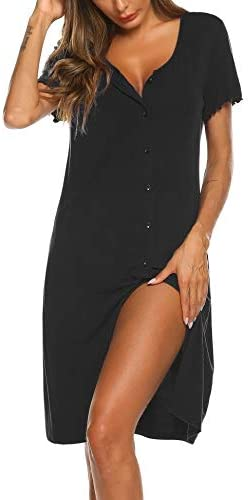 Ekouaer Womens Nightshirt Nightgown Sleepwear product image