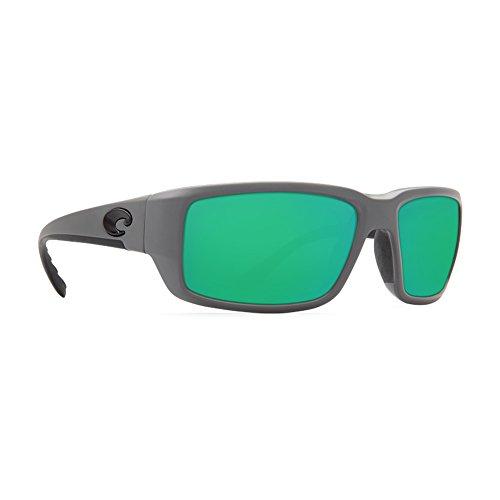 Costa Del Mar Fantail 580G Fantail, Matte Gray Green Mirror, Green - Costa Fantail Sunglasses