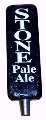 Stone Brewing Company Stone Pale Ale Brewery Beer Tap Handle (Company Brewing Stone)
