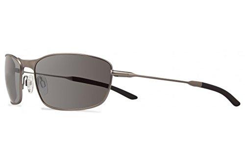 Revo Thin Shot RE 3090 02 GY Polarized Wrap Sunglasses,Matte Gunmetal,60 - Metal Wrap Sunglasses