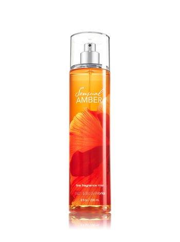 Bath Body Works Sensual Amber 8.0 oz Fine Fragrance Mist