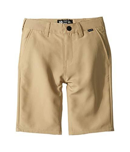 Hurley Kids Boy's Dri-FIT¿ Chino Walkshorts (Big Kids) Khaki 1 14