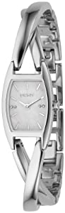 DKNY NY4631 crossover mop dial stainless steel bracelet women watch  from DKNY