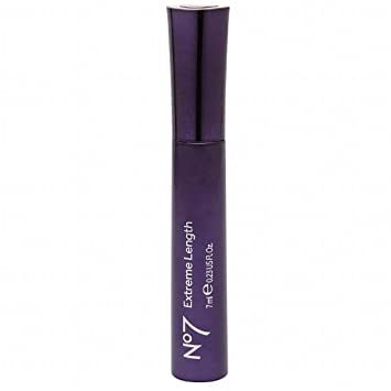 Boots No7 Extreme Length Mascara Brown Black 7ml