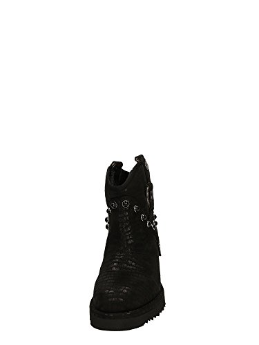 CAFèNOIR REX911 Nero - Botas de Material Sintético para mujer Negro negro negro