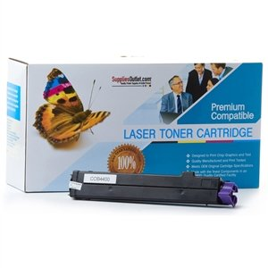 B4600n Printer (SuppliesOutlet Okidata B4400 43502301 (Type 9) Compatible Toner Cartridge - Black - [1 Pack] Page Yield: 3000 Pages At 5% Coverage)
