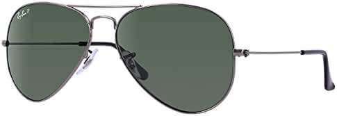Ray-Ban Men's RB3025 Aviator Metal Aviator Sunglasses