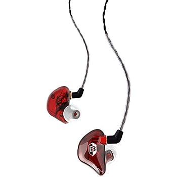 Amazon.com: BASN SE100 Earbud Headphones Secure Fit Deep