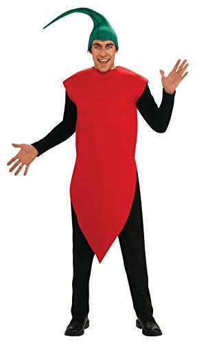 Rubie's Costume Chili Pepper Adult Humor Costume, Red, Standard