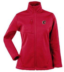 Antigua Calgary Flames Jacket (Antigua Women's Calgary Flames Traverse Fleece Back Full-Zip Jacket Extra)