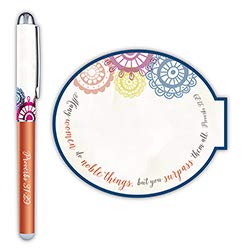 US Gifts Noble Woman Gift Pen with Notepad - 12/pk by US Gifts (Image #1)