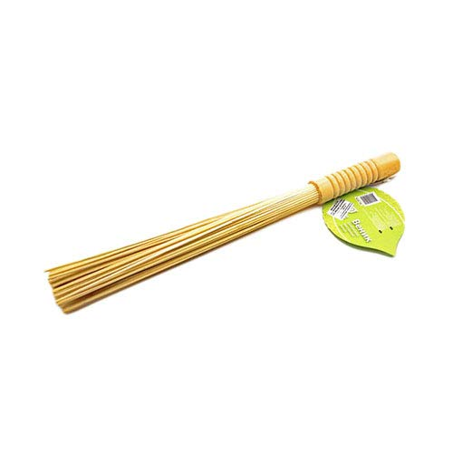 Natural Bamboo Massage Broom, from Russia, 100% Environmentally Friendly, for Sauna and Bath, Handmade (Clean, Dry, Fresh)
