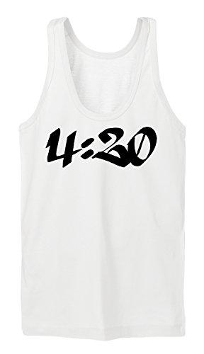 4:20 Tanktop Girls Bianco