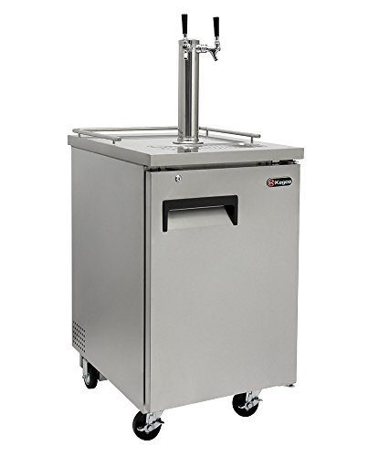 Kegco Commercial Direct Draw Beer Dispenser Stainless Steel
