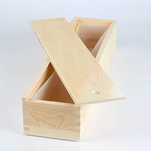 Wood Soap Mold Wooden Box Rectangle Mould DIY Handmade Soaps Making Tool