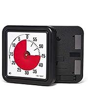 Time Timer magnetische 60 minuten timer met optisch signaal, aftapplug voor kinderen en volwassenen, voor het klaslokaal of vergaderruimtes