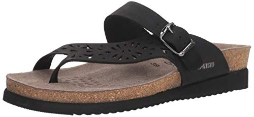 Womens Helen Perf Black Sandals Nubuck Mephisto xazqHFZnZ
