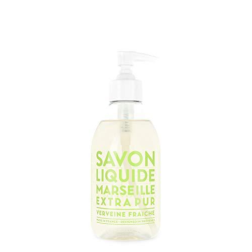 Compagnie de Provence Savon de Marseille Extra Pure Liquid Soap - Fresh Verbena - 10 Fl Oz Plastic Pump Bottle