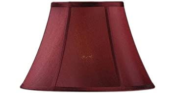 Amazon bell lamp shade 14 silk red baby bell lamp shade 14quot silk red aloadofball Image collections