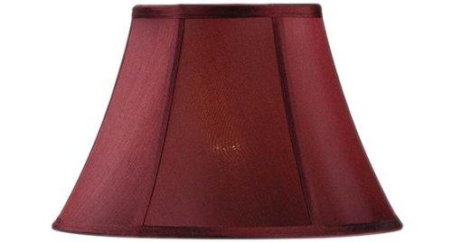 Bell Lamp Shade, 14 SILK, RED