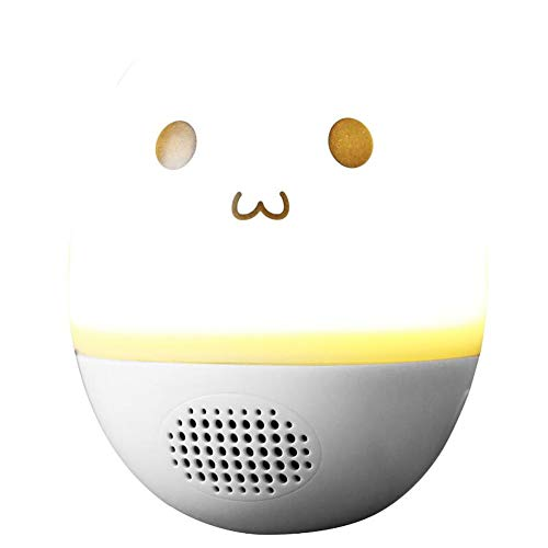 RcnryEgg-Shaped Bluetooth Speaker, 3W subwoofer, Mini-Colored Lights, Anti-Fall, Effective Distance of 10 Meters, You Push me, I Will Shake You See