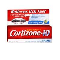 Cortizone-10 Maximum Strength Anti-Itch Creme with Aloe 2 oz (Pack of 3)