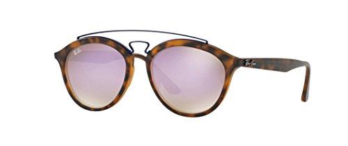 Ray-Ban RB4257F 6266B0 Non-Pol Sunglasses Tortoise/Lilac Gradient - Ban Italy Design Ray