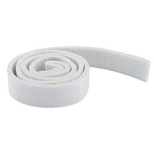 eDealMax Articles ménagers auto-adhésif Réfrigérateur Meubles feutre Tapis Mat 39 x 1 x 0,2 pouces Blanc