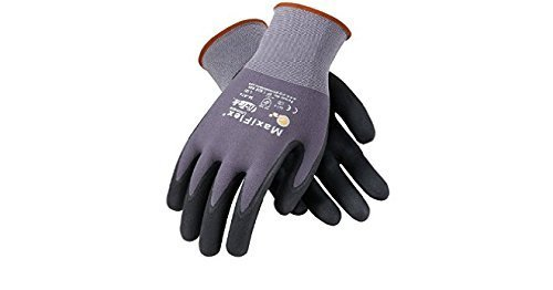 (Maxiflex 34-874 Ultimate Gloves, Large, 12 Piece)