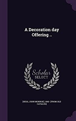 A Decoration Day Offering ..