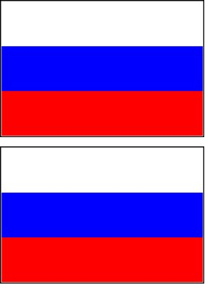2 Russia Russian Flag Stickers Decal Bumper Window Laptop Phone Auto Boat  Wall