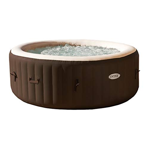Strips Water 3 Way Test (Intex PureSpa 4Person Inflatable Bubble Jet Spa Portable Heated Hot Tub, Brown)