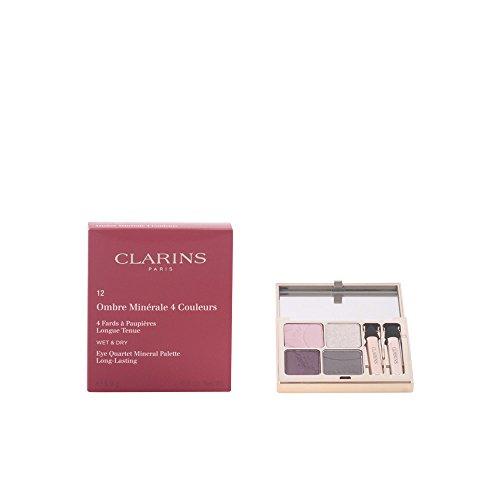 Clarins Eye Quartet Mineral Palette 12 Vibrant Light (Color Clarins For Quartet Eyes)