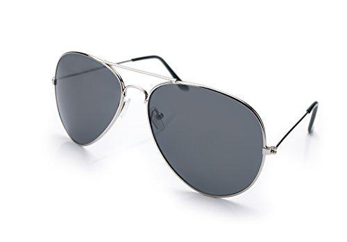 Gafas black de sol 4sold hombre Silver para Ucx1naqdqw