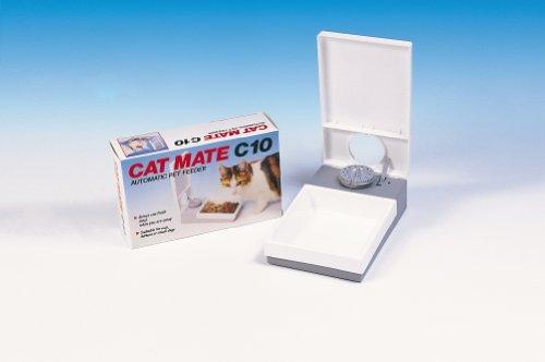 Cat Mate Cat Mate C10 Automatic Pet Feeder Cat Mate C10 Automatic Pet Feeder – 1 Meal – 24 Hour Automatic Feeder