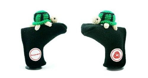 【高額売筋】 Amimono B00ATRG3SW Turtleパターゴルフヘッドカバー ブラック/グリーン B00ATRG3SW, Jewelry SUEHIRO:33e7e219 --- a0267596.xsph.ru