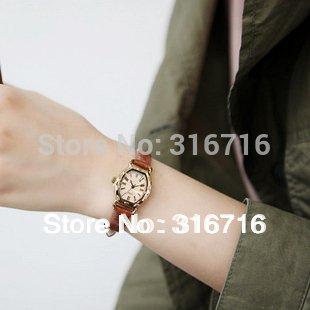 New 2014 Original Designer Famous Brand Dress Watch JULIUS Fashion Luxury Women's Watches,Quartz Leather Strap clock women 544 By LNTGO