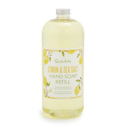 Sur La Table Lemon & Sea Salt Hand Soap Refill, 32 - La Table Cleaners Sur