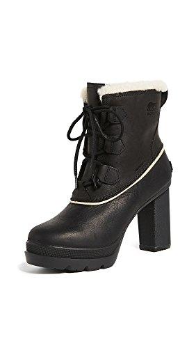 Sorel Women's Dacie Lace Booties, Black, 8.5 B(M) US by SOREL