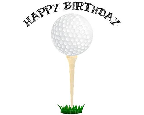 Fantastic Golf Cake Toppers Shop Golf Cake Toppers Online Personalised Birthday Cards Arneslily Jamesorg