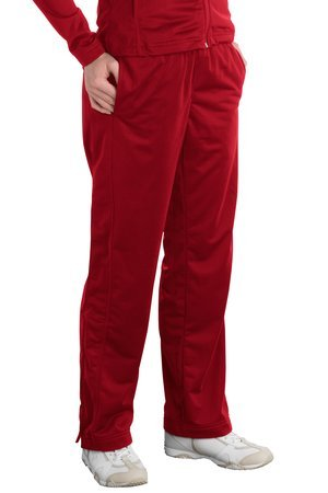 Sport-Tek Sport-Tek, Ladies Tricot Track Pant, True Red, 2XL