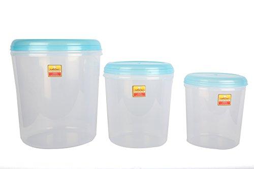 Laplast Plastic Container, 17 litres, 1 Piece, Multi