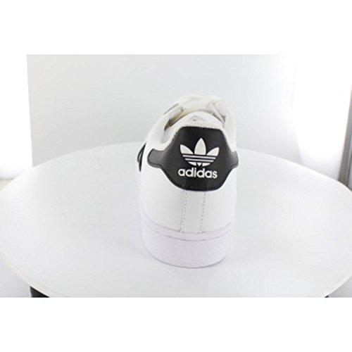 adidas Superstar, Chanclas para Hombre Blanco (Ftwbla / Negbas / Ftwbla)