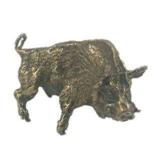 Amazon.com: CTOC Pig - Llavero de bronce hecho a mano: Home ...