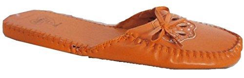 CHERAG 6 vif bord avant Orange et nœud avec enfiler à TAILLE orange Vêtements Chaussure PIrqP