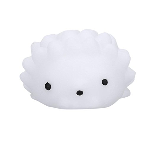 Bell Collection Jewelry John - Yeefant Stress Relief Extrusion Hedgehog Pinches Super Soft Slow Rising Relaxing Anti-Anxiety Squeeze Mini Colorful Scented Collection Squeeze Stress Reliever Toy For Kids Adult,White