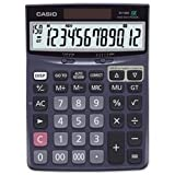 Casio brand New. Dj120d Large Desktop Calculator Battery/solar Power 12 Digit Tax Keys Ref Dj120d
