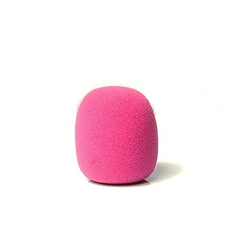 DStores 10 PCS Pink PCS Foam Ball-Type Mic Windscreen Microphone Set Sponge Foam Cover Shield ()